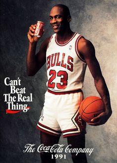 Michael Jordan coca cola