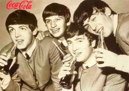 coca cola beatles